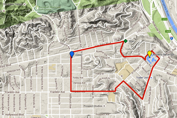 Walk 1: Los Feliz Village Loop